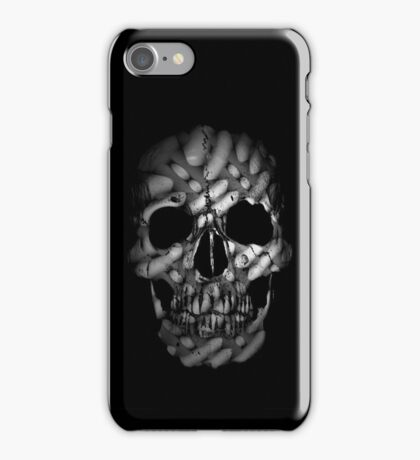 chiseled skull  iPhone Case/Skin