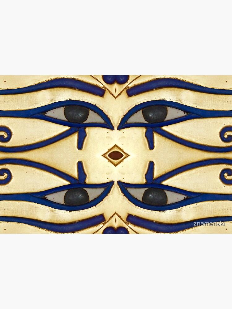Pattern, motifs, ancient, Egyptian, ornaments by znamenski