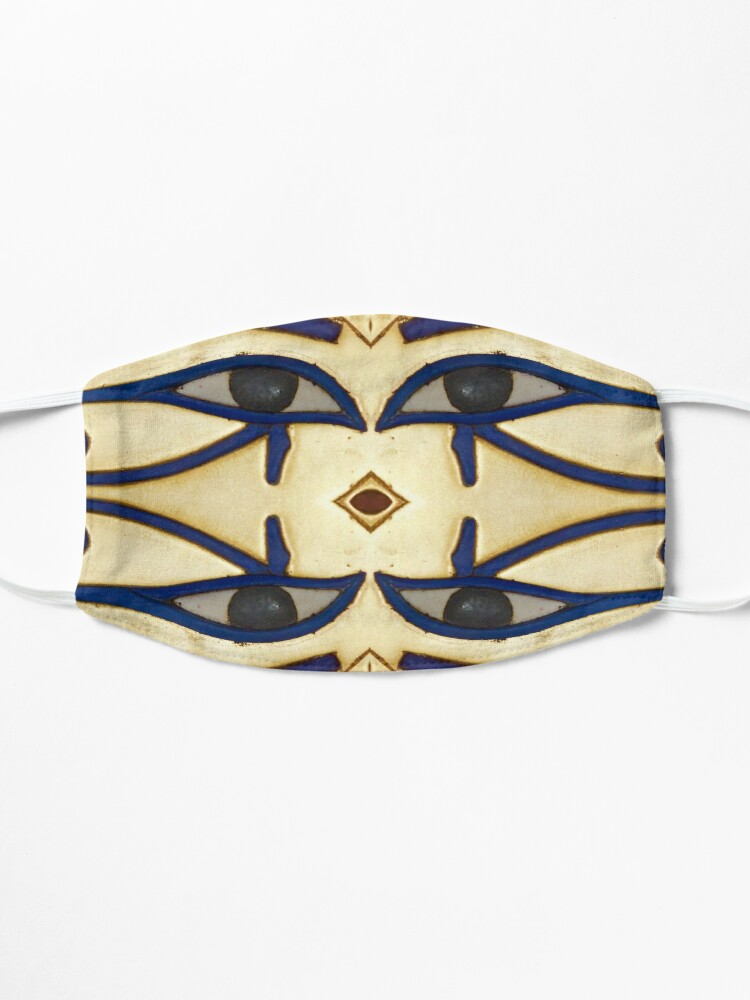 Alternate view of Pattern, motifs, ancient, Egyptian, ornaments Mask
