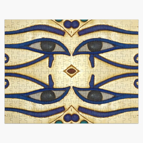 Pattern, motifs, ancient, Egyptian, ornaments Jigsaw Puzzle
