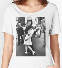 Times Square V/J-Day Kiss Women's Relaxed Fit T-Shirt