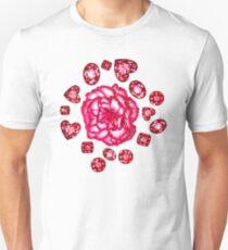Garnets & Carnations  Unisex T-Shirt