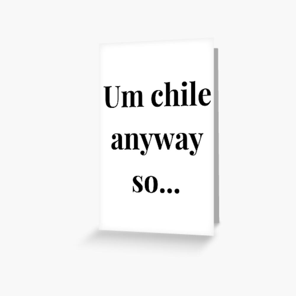 Chile Anyway Tik Tok Meme By Nicki Minaj Laptop Skin By Ausrinebak Redbubble