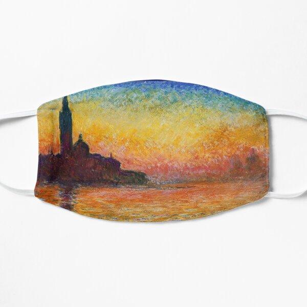 San Giorgio Maggiore at Dusk - Venice Flat Mask