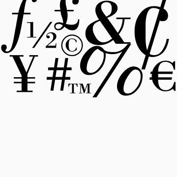 Glyphs by designbyzach