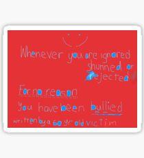 Bully Bully Sticker