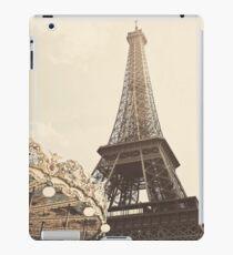 Eiffel Tower Carousel iPad Case/Skin