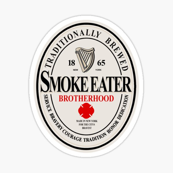 SMOKE EATER BREW Sticker