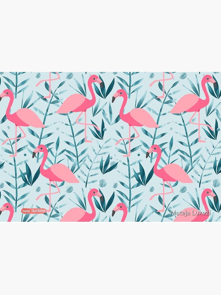 Flamingo fever by MatejaLukezic