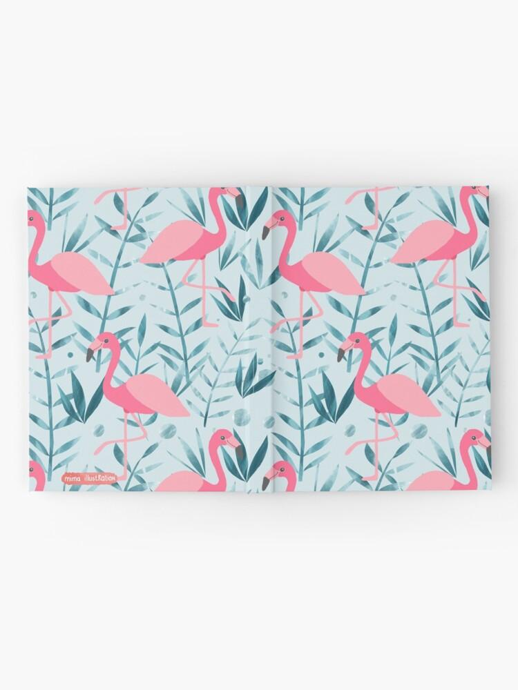 Alternate view of Flamingo fever Hardcover Journal