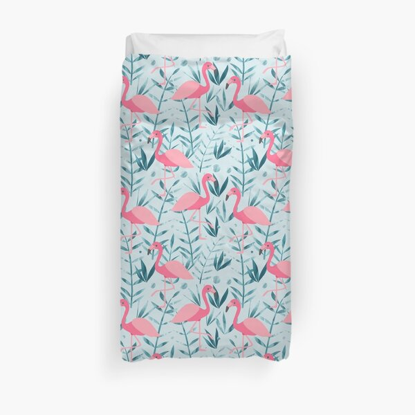 Flamingo fever Duvet Cover