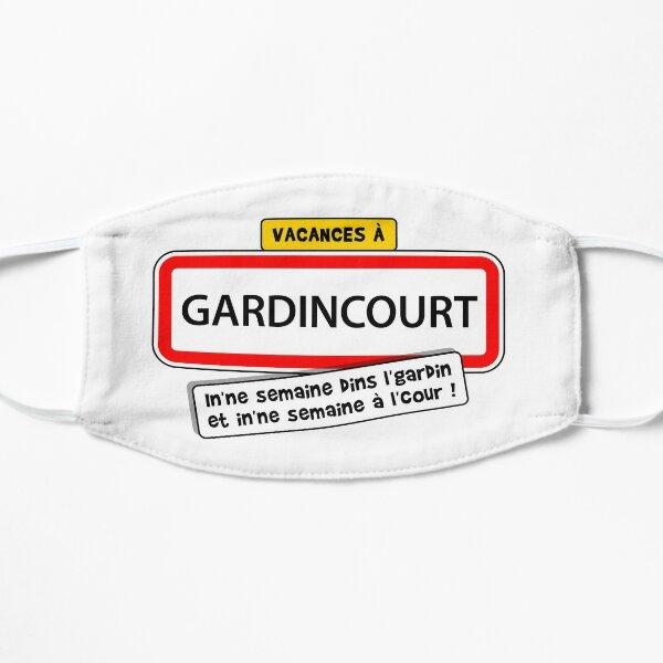 Vacances à GARDINCOURT : In'ne semaine dins l'gardin, in'ne semaine à l'cour ! Masque sans plis
