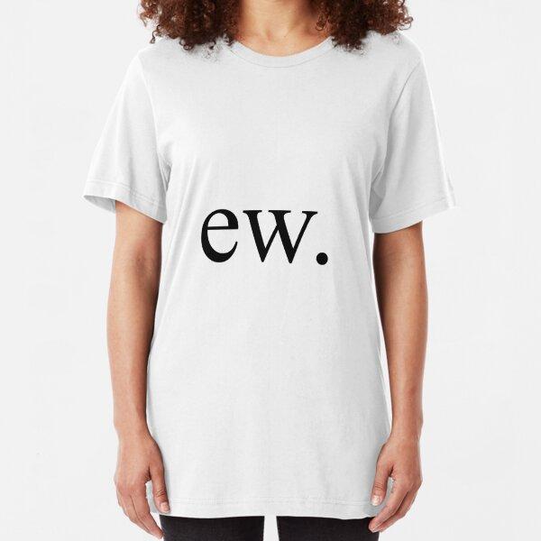 ew. Slim Fit T-Shirt