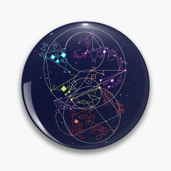She-Ra Constellations Pin