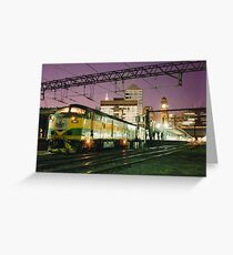 Indian Pacific at Central Station, Sydney Greeting Card
