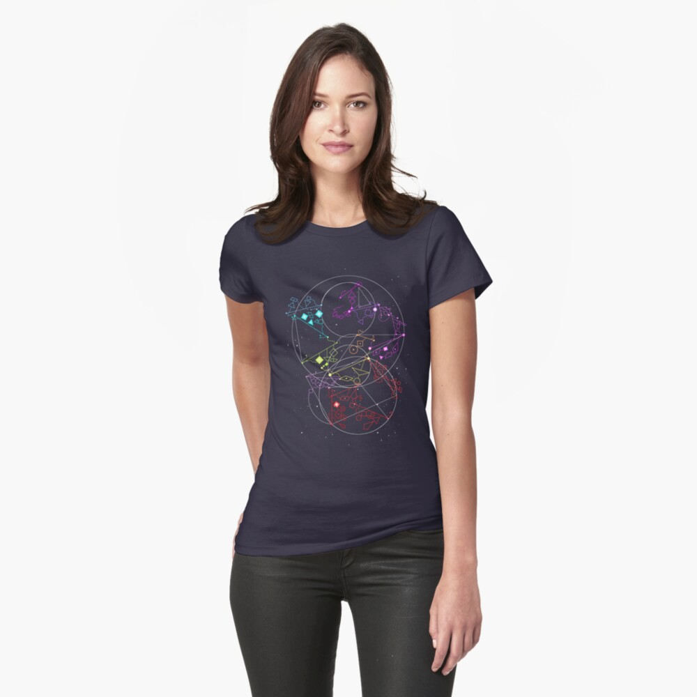 She-Ra Constellations Fitted T-Shirt