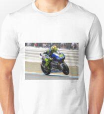 Valentino Rossi at laguna seca 2013 Unisex T-Shirt