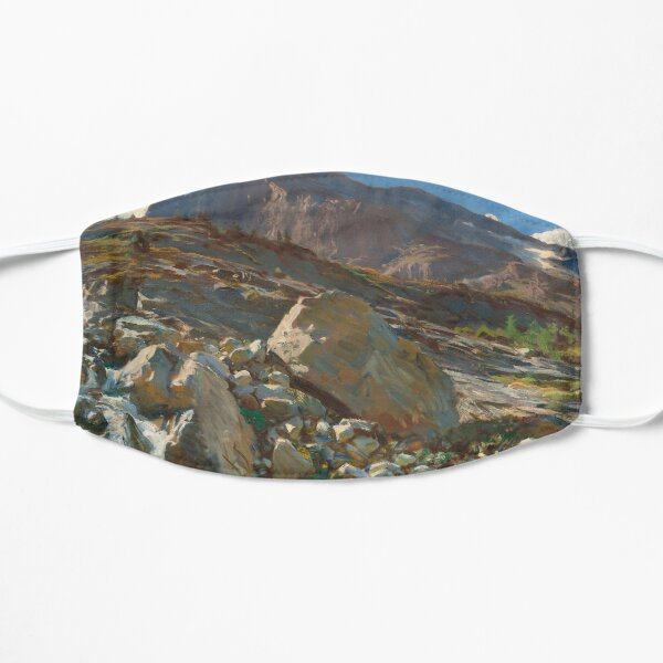 Simplon Pass Oil Painting by  John Singer Sargent Flat Mask
