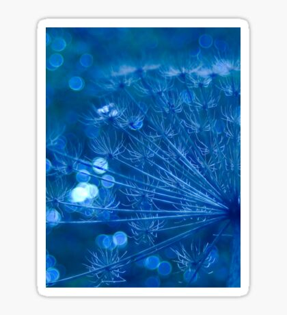 Sparkling Blue Imagination Sticker