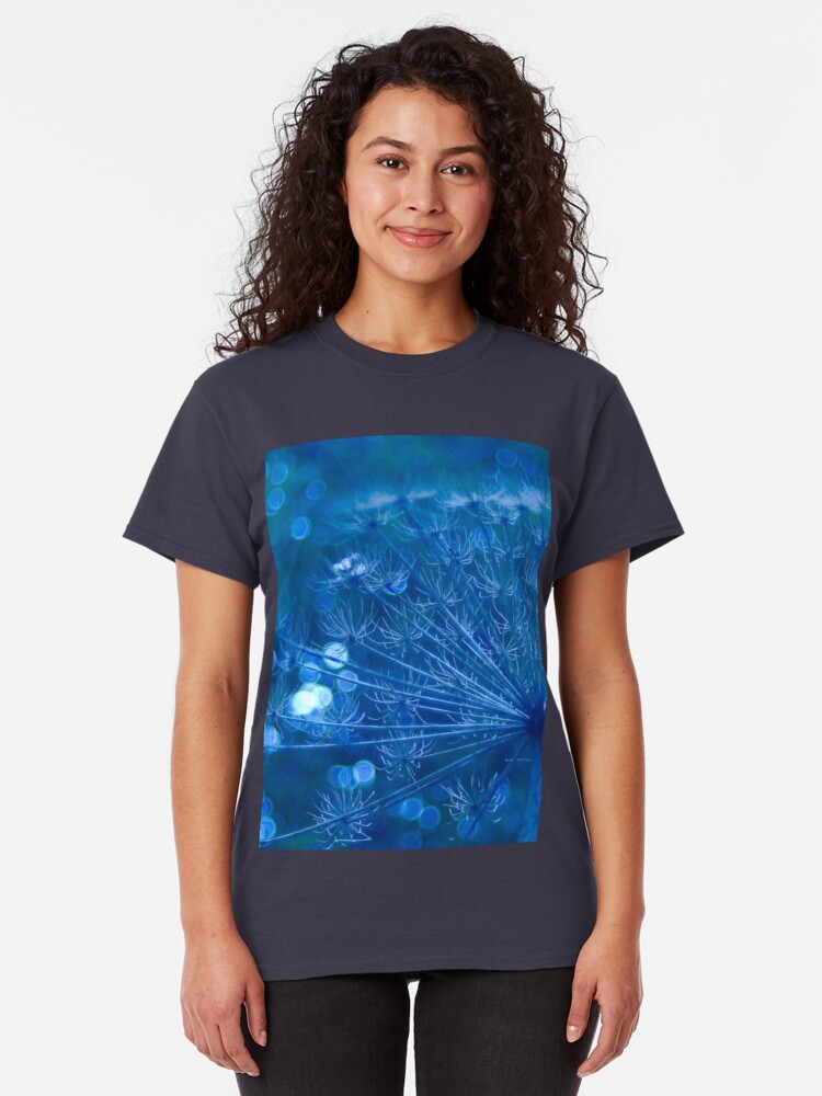 Alternate view of Sparkling Blue Imagination Classic T-Shirt
