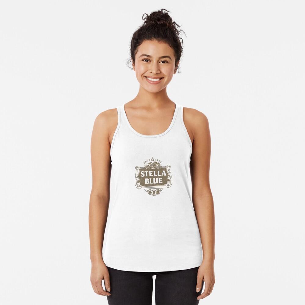 Stella Blue Camiseta con espalda nadadora
