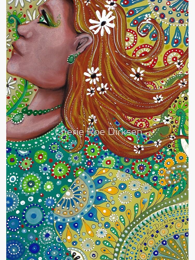 Ginger Goddess by cheriedirksen