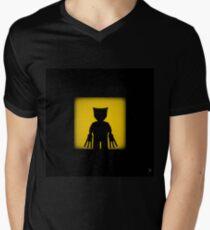 Shadow - Adamantium Men's V-Neck T-Shirt
