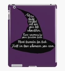 Practical Magic iPad Case/Skin