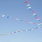 Sky flags by Paul Le Henaff