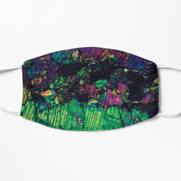 Pyroxene Crystals - Thin Section Photography Mask