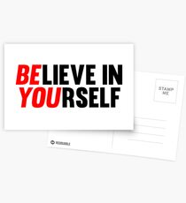 Believe in Yourself Postcards