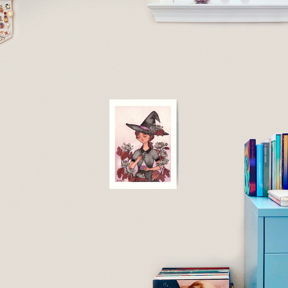 The Girl with Magic Poison Art Print
