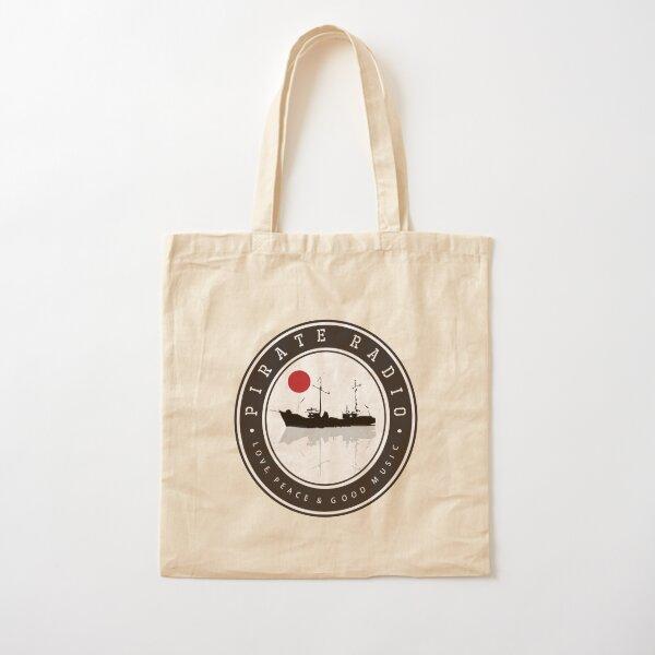 Pirate Radio 2 Cotton Tote Bag