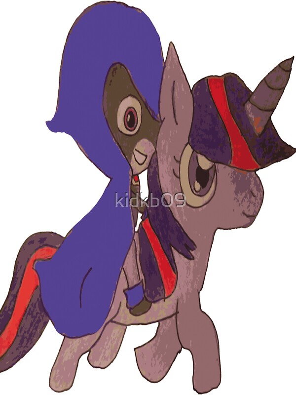 Quot Raven And Twilight Sparkle Quot Stickers By Kidkb09 Redbubble