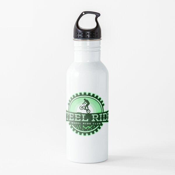 Steel Ride Wheel Ride Club - Obra artística y artículos de diseño Botella de agua