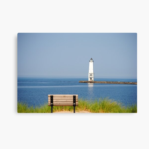 Frankfort Lighthouse Canvas Print
