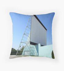 Drive-in Movie Throw Pillow