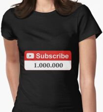 YouTube 1 Million Subscribers T-Shirt