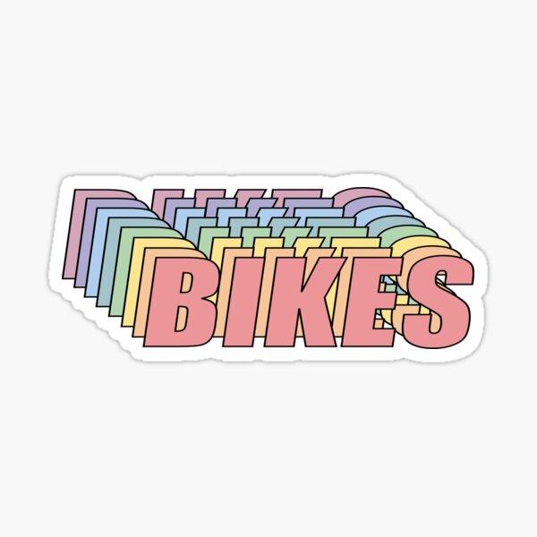 Fahrräder Sticker