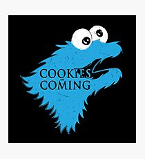Cooking are coming Photographic Print