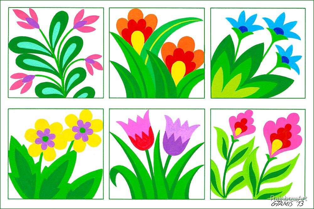 FLOWERS GALLERY by RainbowArt