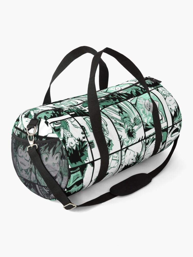 Alternate view of Midoriya Izuku collage color version Duffle Bag