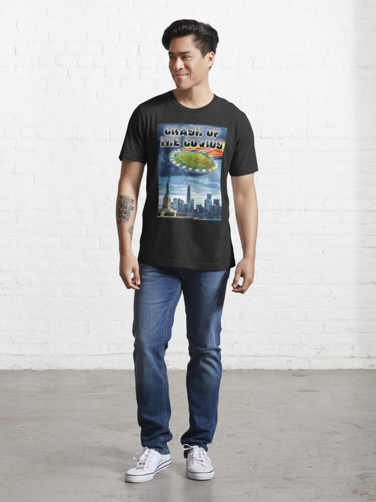 Alternate view of Crash of the Covids Essential T-Shirt