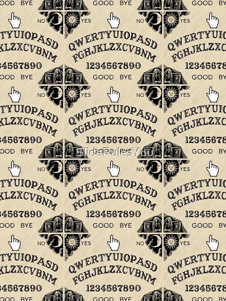 QWERTY Ouija Board by SlideRulesYou