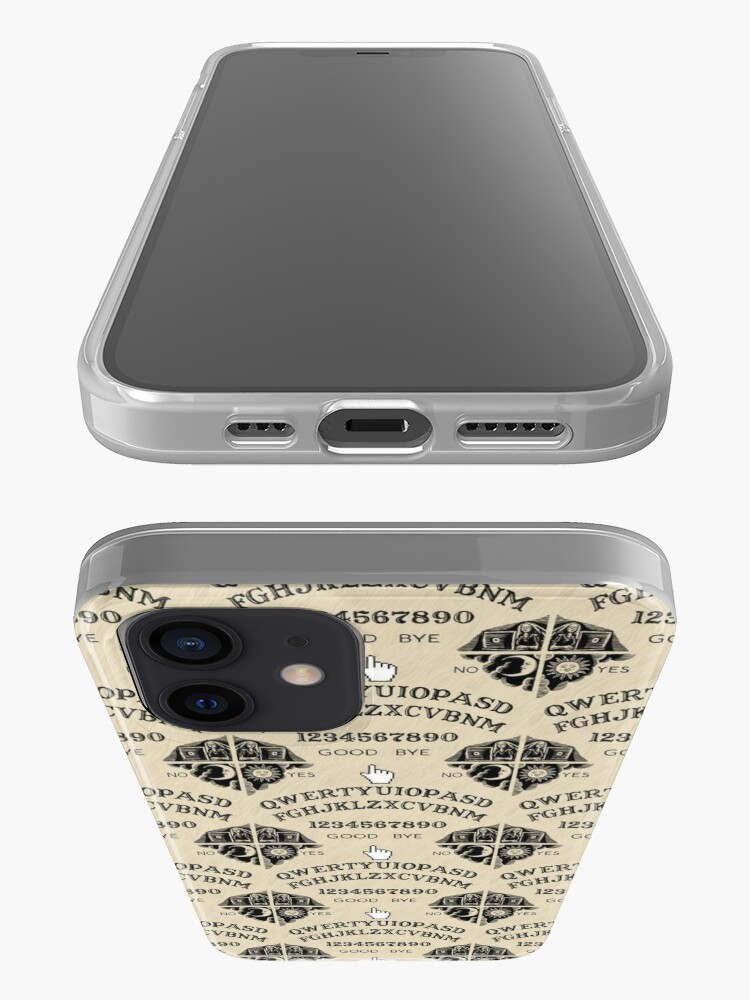 Alternate view of QWERTY Ouija Board iPhone Case & Cover