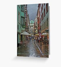 Innsbruck Architecture Greeting Card