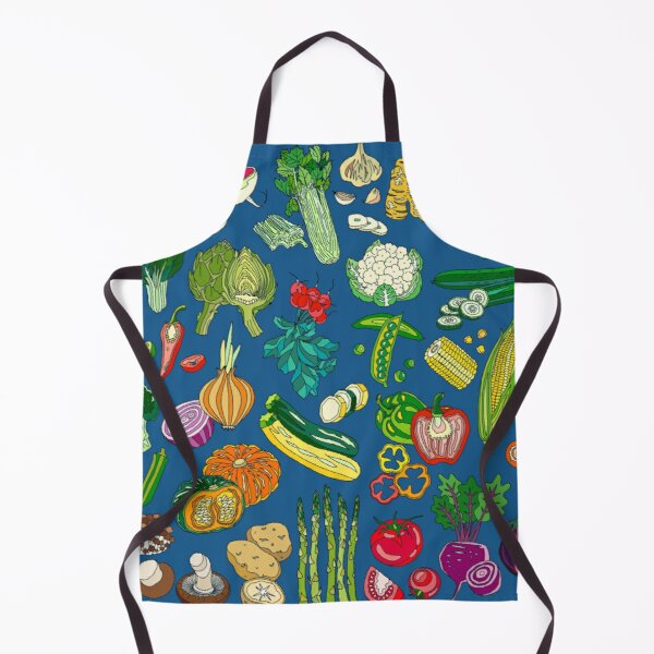 Get Veggies by Night! Apron