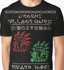 Monster Hunter Required - Rathalos and Rathian Graphic T-Shirt