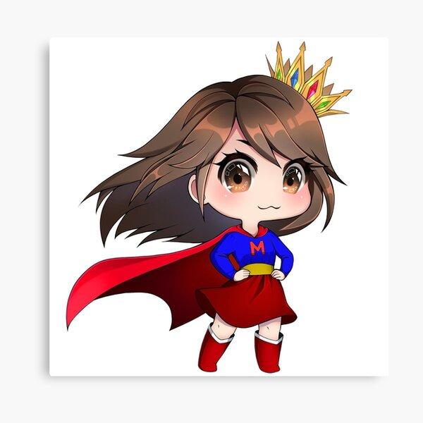 Superhero Mish Canvas Print