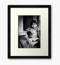 The Least of These Framed Print